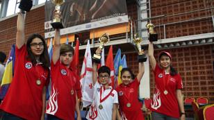 Türkiye, Karadağ'dan 9 kupa ve 25 madalya ile döndü