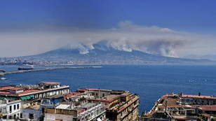 İtalya orman yangınlarıyla boğuşuyor