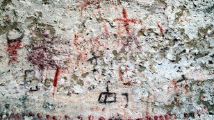 Kahramanmaraş'ta eski taş çağına ait mağara resimleri bulundu