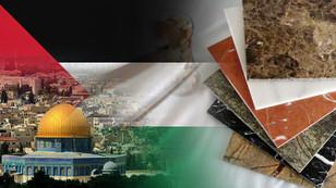 Filistin'de alışveriş merkezi için mermer ithal edilecek