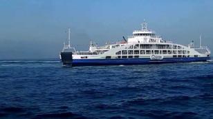 Çanakkale'de feribot arızalandı