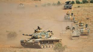Habur bölgesinde askeri tatbikat başladı