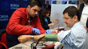 Gong, kan bağışı için çaldı