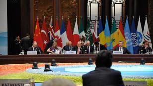 G20 açılış oturumuyla başladı