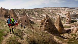 Salomon Kapadokya ultra trail için geri sayım