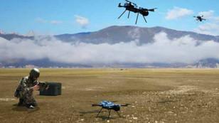 Kamikaze drone'lar göreve hazır