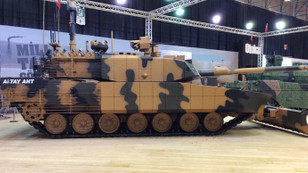 Otokar ALTAY tankını şehir savaşları için hazırladı