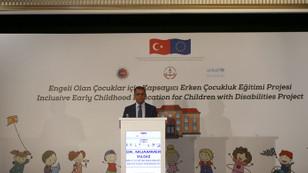 MEB ve UNICEF'ten engelli çocuklar için eğitim projesi