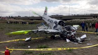 Uçak kazasının detayları ortaya çıktı