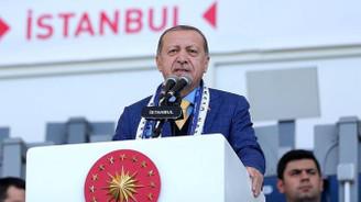 Erdoğan: Arena isimleri stadyumdan kaldırılıyor
