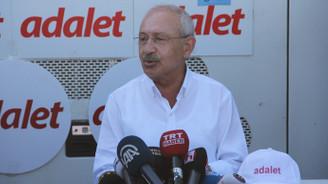 CHP lideri Kılıçdaroğlu: Ellerimiz şiddete kalkmayacak
