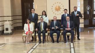 Erdoğan, Meksika Büyükelçisi Bernardo Cordova Tello'yu kabul etti