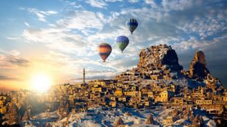 Yerli turist bayram tatili için Kapadokya'yı tercih etti