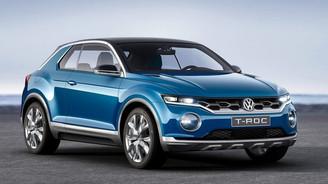 Volkswagen'dan tamamen yeni bir model: T-ROC Crossover
