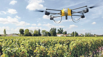 Dronelar işleri kolaylaştırmaya başladı