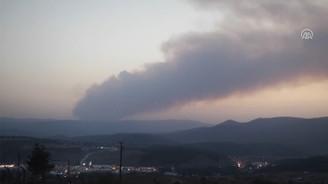 Kütahya'da başlayan yangın, Bilecik'e doğru ilerliyor