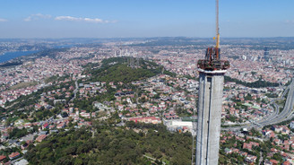 Çamlıca Kulesi antenini bekliyor