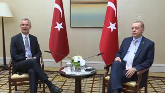 Erdoğan, Stoltenberg ile bir araya geldi