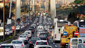 İlk 8 ayda köprü ve otoyolları 278 milyon araç kullandı