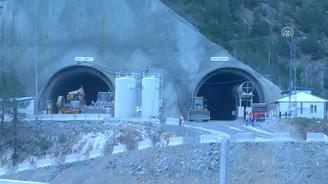 Yeni Zigana tünelinde 7 bin 700 metre kazıldı