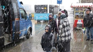 'En şiddetli' kar yağışı başladı