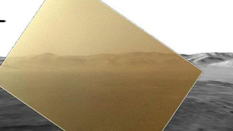 Mars'tan ilk fotolar geldi