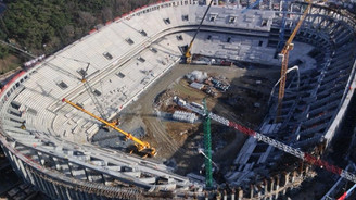 Beşiktaş'ta Vodafone Arena depremi