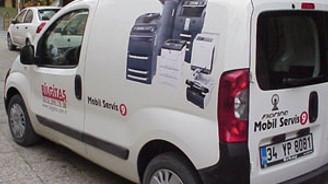 Bilgitaş, Mobil Servis hizmetini başlattı