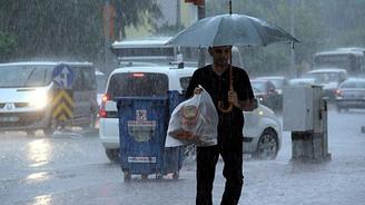 İç Anadolu'da kuvvetli yağış ve fırtına uyarısı