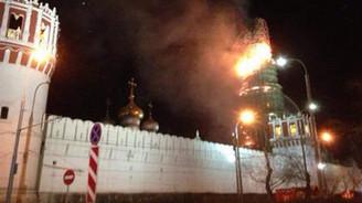 Nazım'ın mezarının bulunduğu manastır yandı