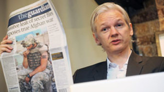Assange- Guardian gerginliği