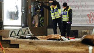 Stocholm'deki patlamalar terör saldırısı