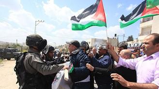 İsrail'den Filistin yürüyüşüne müdahale
