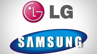LG ve Samsung davalarından vazgeçiyor