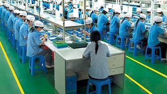 Çin sanayi üretimi beklentilerin hafif altında