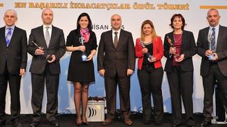 En başarılı ihracatçılar ödüllendirildi