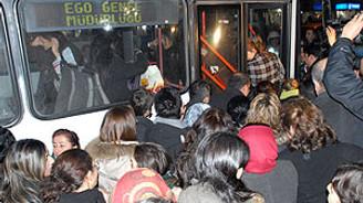Ankara'da ulaşım zammı protestosu