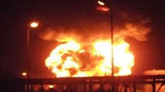 Stockholm'de şiddetli patlama