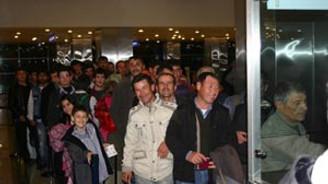 Türk vatandaşlar İstanbul'da