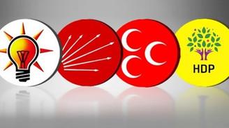 Dört siyasi parti de yeni anayasa vaadinde bulundu
