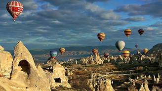 Kapadokya'nın turizm gelirinin % 14'ü balondan