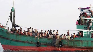 Denizin ortasında 40 günlük yaşam mücadelesi