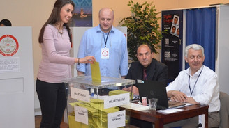 Yurtdışında 1 milyon 31 bin seçmen oy kullandı