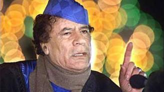 Kaddafi'ye seyahat yasağı getirildi