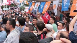 MHP'liler ile AK Partililer arasında arbede