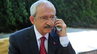 AB'den Kılıçdaroğlu'na telefon
