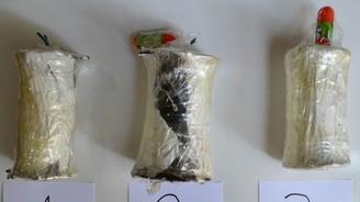 Sırt çantasından 3 bomba çıktı