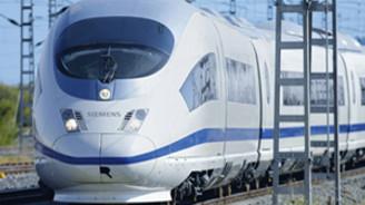 Siemens, hızlı trene talip
