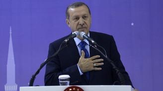 Erdoğan: O tabelanın altından geçmek bile...