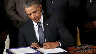 Obama'dan kritik imza